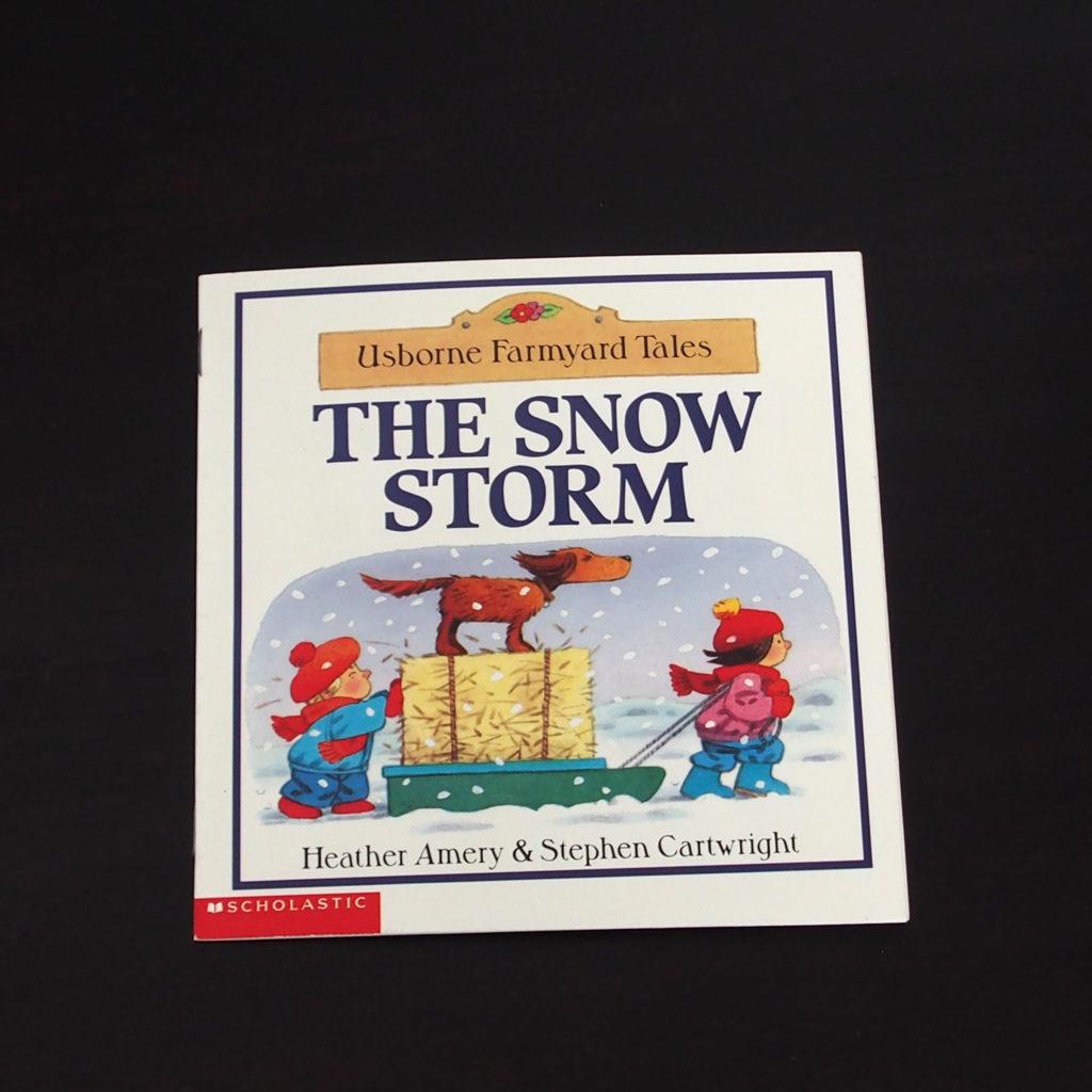 the snow storm、表紙
