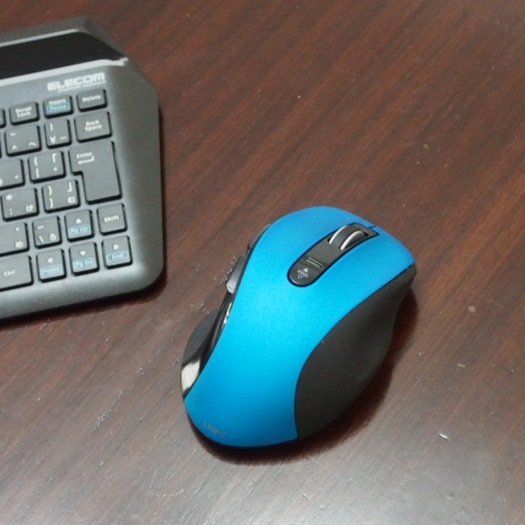 bluetooth、マウス